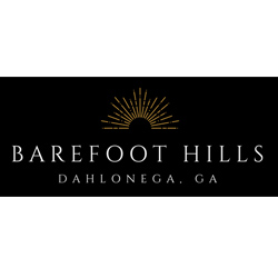 Book your wedding at Barefoot Hills in Dahlonega, GA.