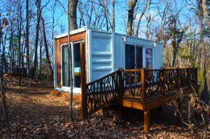 Barefoot Hills in Dahlonega provides eco-friendly wedding guest lodging